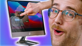Using a Touchscreen on a MacBook Pro! - espresso display