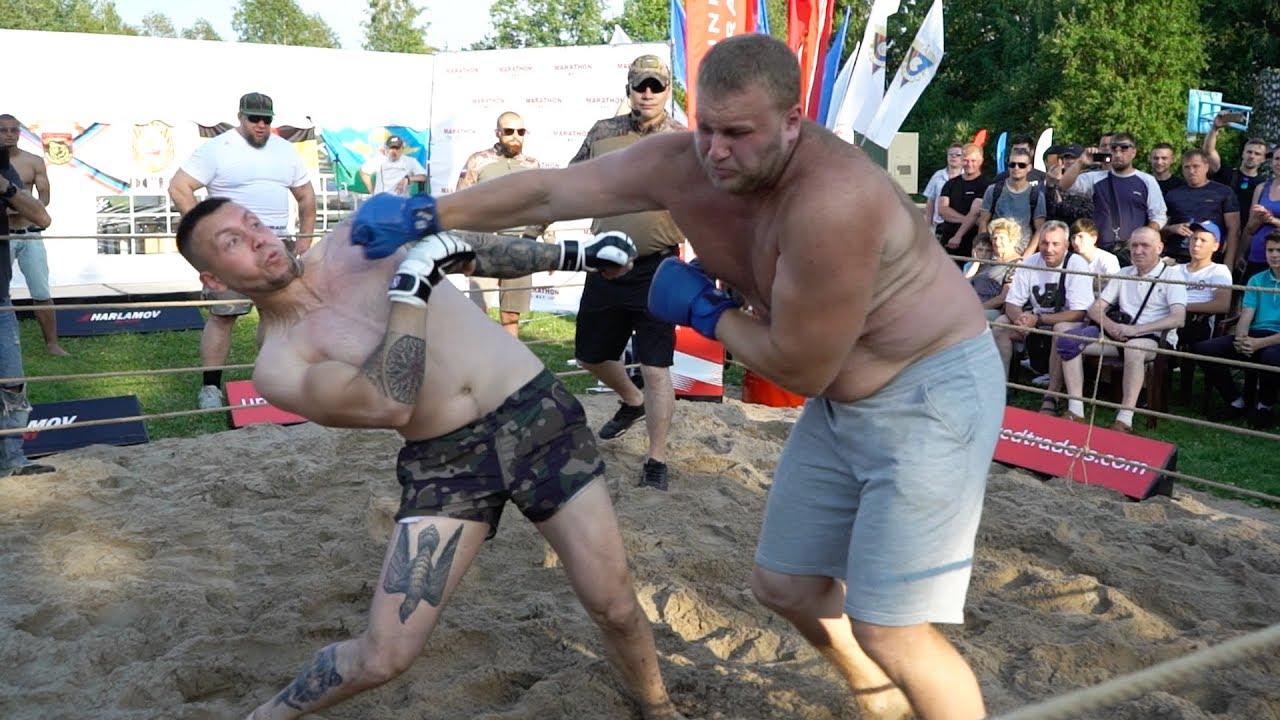 ВДВ против Огромного Качка  !!! Армейские Бои ВМФ!!!