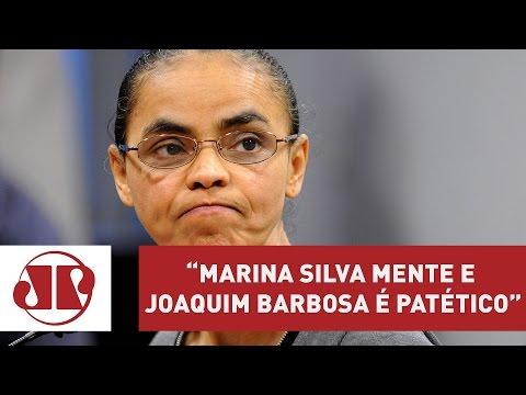 Marina Silva mente e Joaquim Barbosa é patético, diz Villa | Jornal da Manhã | Jovem Pan