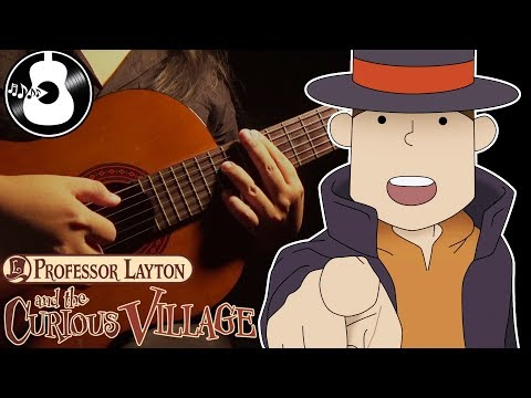Professor Layton and the Curious Village - Puzzles (Guitar & Violin Cover) || String Player Gamer