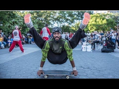BEST STREET PERFORMER EVER  | TYLON THA 1 | WASHINGTON SQUARE PARK NEW YORK CITY