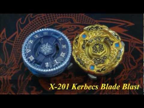 EPIC XTS Battle X-202 Tempo Hammer VS X-201 Kerbecs Blade Blast HD! AWESOME