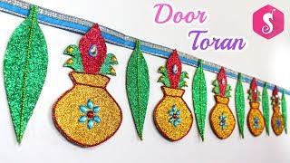 DIY Kalash Door Toran for Diwali | Sonali