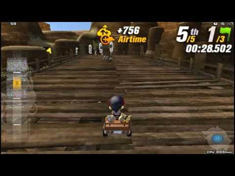 Modnation Racers PSP Gameplay HD