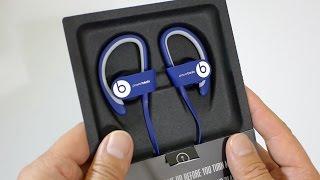 First Look: Beats Powerbeats2 Wireless in BLUE