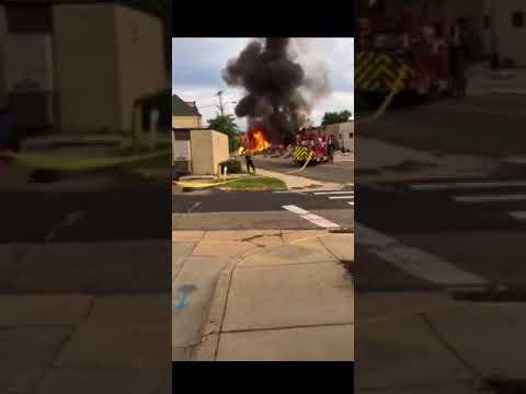 Barr House Fire