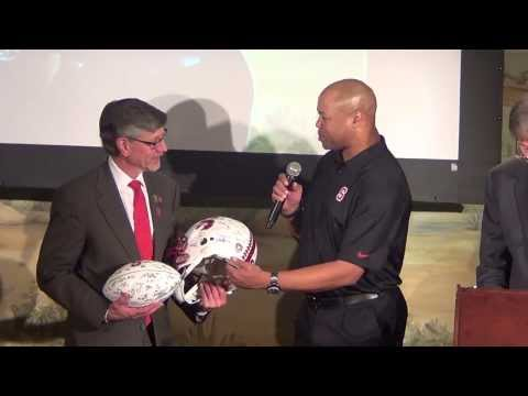 STANFORD CARDINAL FOOTBALL AT LAWRY