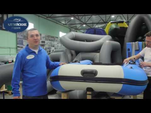 Производство лодок ПВХ