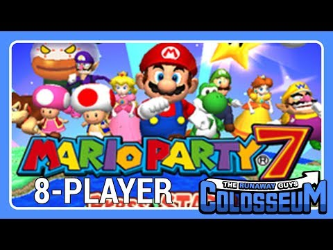 The Runaway Guys Colosseum – 8-Player Mario Party 7