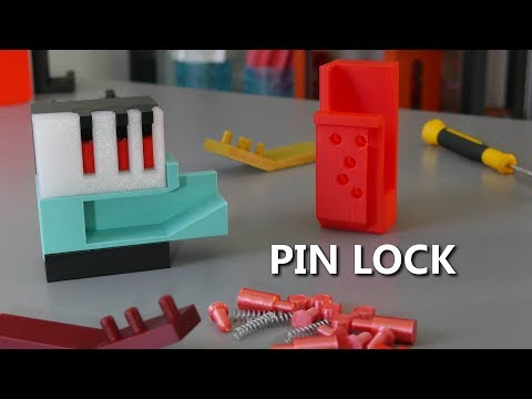 The Oldest Lock Design Ever Found - 3D Printed Pin Lock