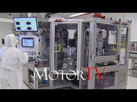 CAR FACTORY :  Lithium-ion Battery Cells Production At VOLKSWAGEN Salzgitter Plant
