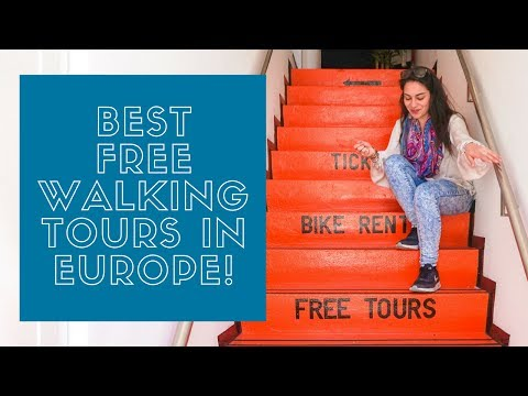 THE BEST FREE WALKING TOURS in Europe | THE HOSTEL GIRL