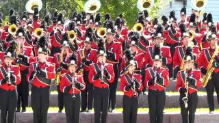 UC Marching Band Pregame Concert Hey Baby.  9 17 2011 vs Akron.  Bearcat Band 0265.MOV