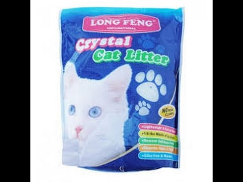 How To Use The Second Time Cat Silica Litter. Kaciu Kraikas Kaip Panaudoti Antra Karta