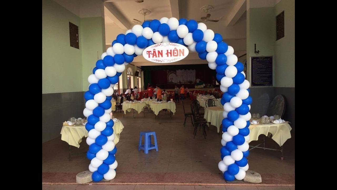 Hướng dẫn làm cổng bong bóng đơn giản tại nhà – Thầy Linh Bong Bóng