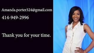 Amanda Porter Anchor Reporter Reel 2019