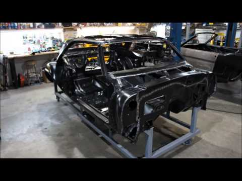 Replacement Camaro Body Shells Assembled By RMC - YouTube