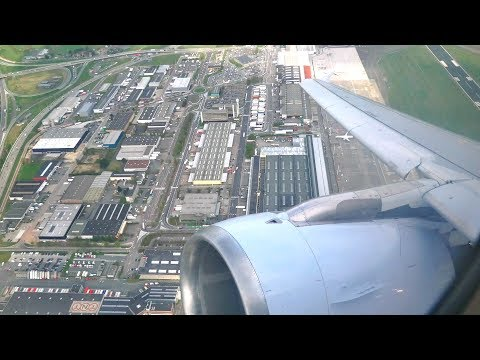 (4K) Brussels Airlines A319 Business | Brussels to London Heathrow | SN2095