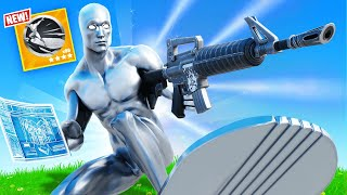 *EXTREME* SILVER SURFER Challenge in Fortnite!