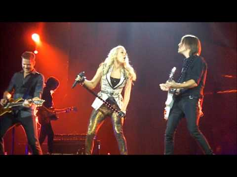 """Carrie Underwood - """"Sweet Emotion"""" LIVE in Green Bay"""