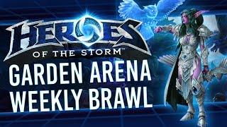 Heroes Brawl - Garden Arena (Heroes of the Storm)