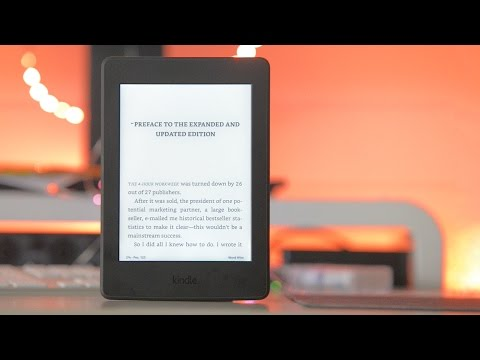 Kindle Paperwhite 2016 Review -Better than a book?