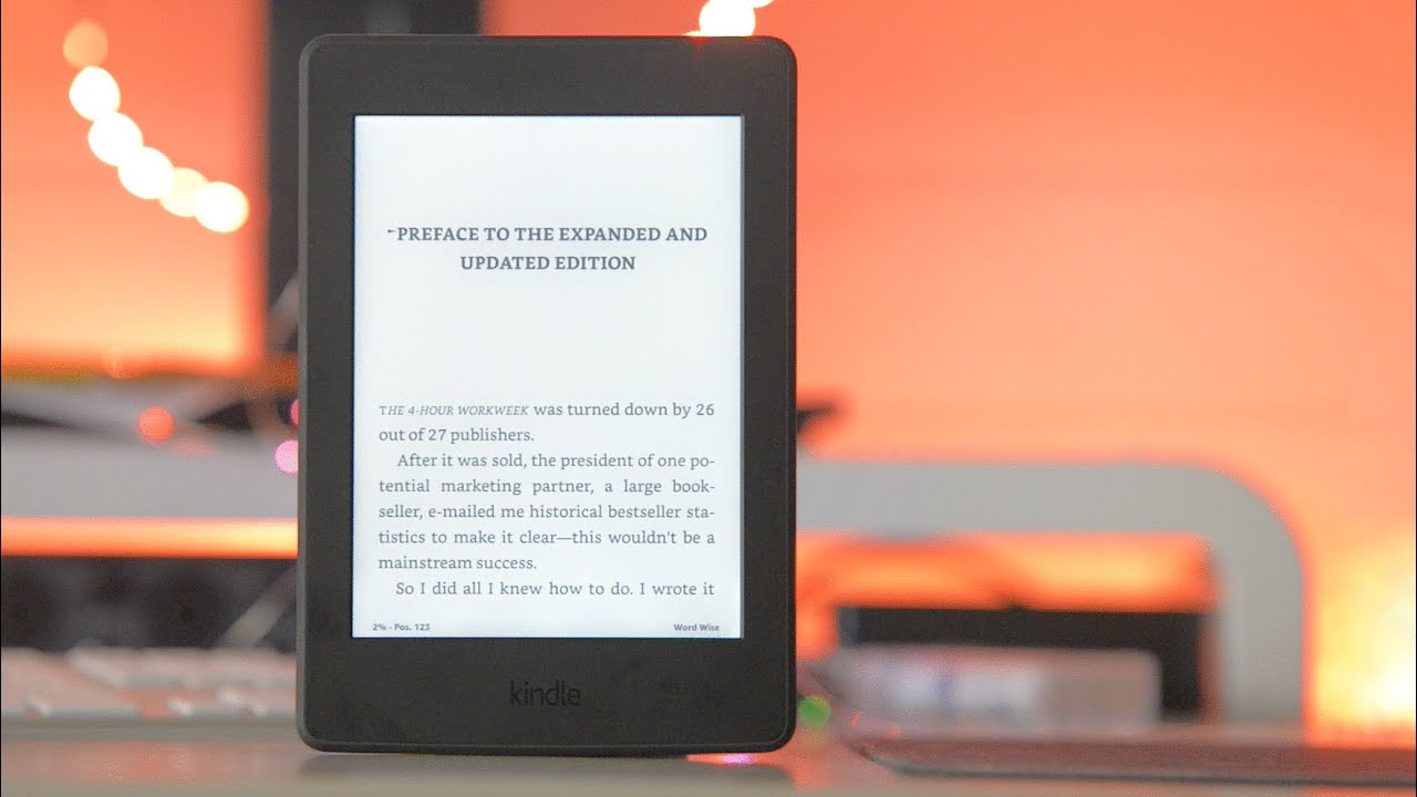 Kindle Paperwhite 2016 Review –  Better than a book?