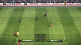 Pro Evolution Soccer 2010 -DEMO - Gameplay