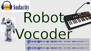 How to Sound Like a Robot (Audacity Vocoder Tutorial)