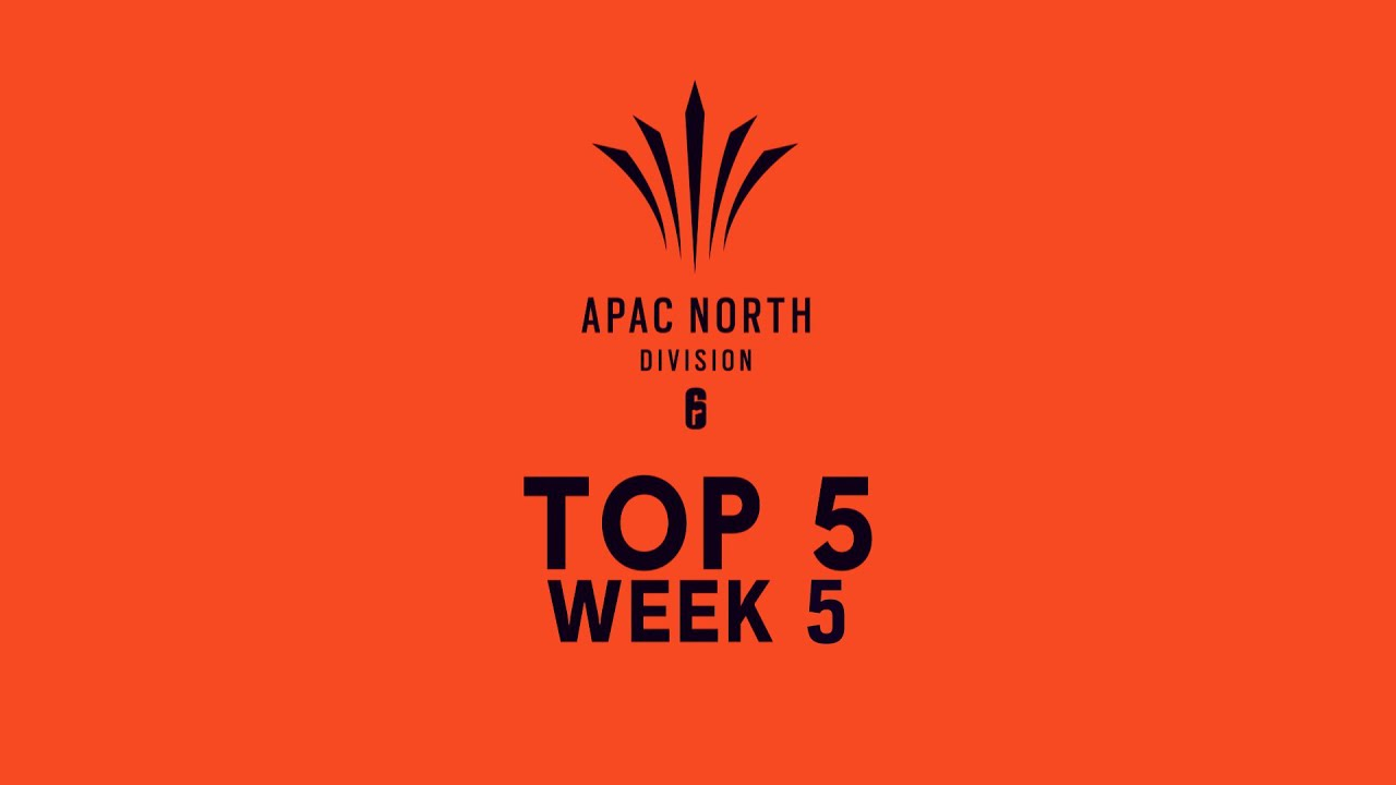 Top 5 plays - Rainbow Six Siege's Asia Pacific North Division 2020, Stage 2, week 5