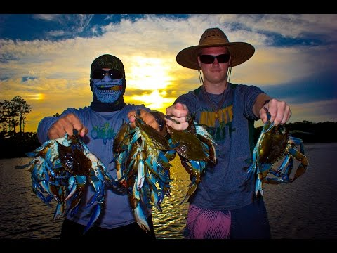 Crabbing With Subscribers!!! Blue Crabs!!! CRAB Meat For Dinner!!!