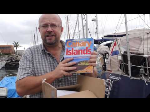 Arrival of the Cruising Guide to the Canary Islands