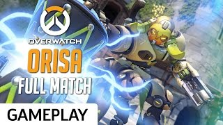 Orisa Gameplay on Oasis - Overwatch