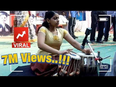 Kerala girl Playing Tabla, Amazing performance