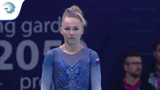 Maria PASEKA (RUS) - 2019 Artistic Gymnastics European Champion, vault