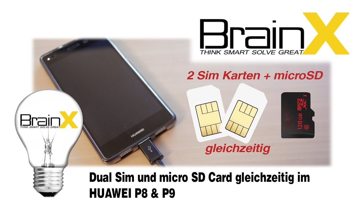 Huawei P Smart 2 Sim Karten.Huawei P8 Lite P9 Lifehack Dual Sim Und Micro Sd Card Gleichzeitig