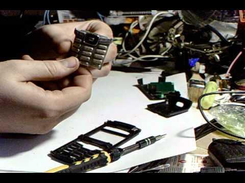 Sony Ericsson T290i как разобрать часть 1