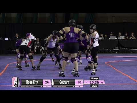 Gotham vs Rose City - 2019 International WFTDA Championships Game 13
