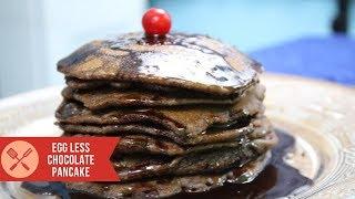 Best Eggless Chocolate Pancake Recipe in 5 Minute a multipurpose special cake recipe