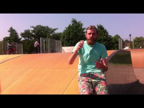 New ramps at Burgess Hill Skate Park