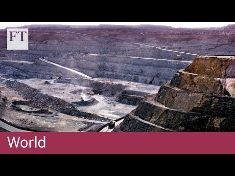 Australia's town built on gold