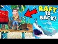 RAFT IS BACK! NEW ITEMS, NEW ISLANDS, NEW SECRETS! | Raft Early Access Steam Release Gameplay