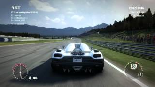 GRID 2 PC Multiplayer Race Gameplay: Tier 4 Fully Upgraded Koenigsegg Agera R [VERY HARD TO CONTROL]