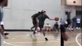 JCole DESTROYING NBA Players In Pickup Game!