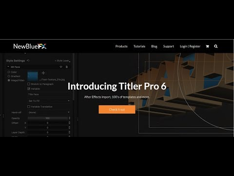 10 Tutorial Resolve 14 Making a Simple Credit Roll with Titler Pro 6