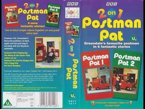 Postman Pat: 2 On 1 (1996 UK VHS)