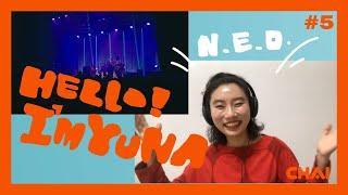 """""""HELLO I'M YUNA!"""" ユナと一緒にLIVEを見よう!""""N.E.O.""""編 (subtitled)"""