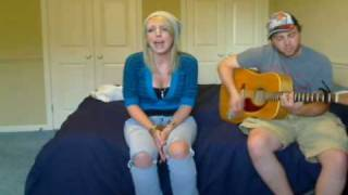 Beyonce - If I Were a Boy  - Acoustic Cover - Lynzie Kent and Rich G