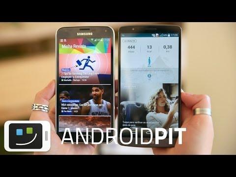 Galaxy S5 vs LG G3 [COMPARATIVO]