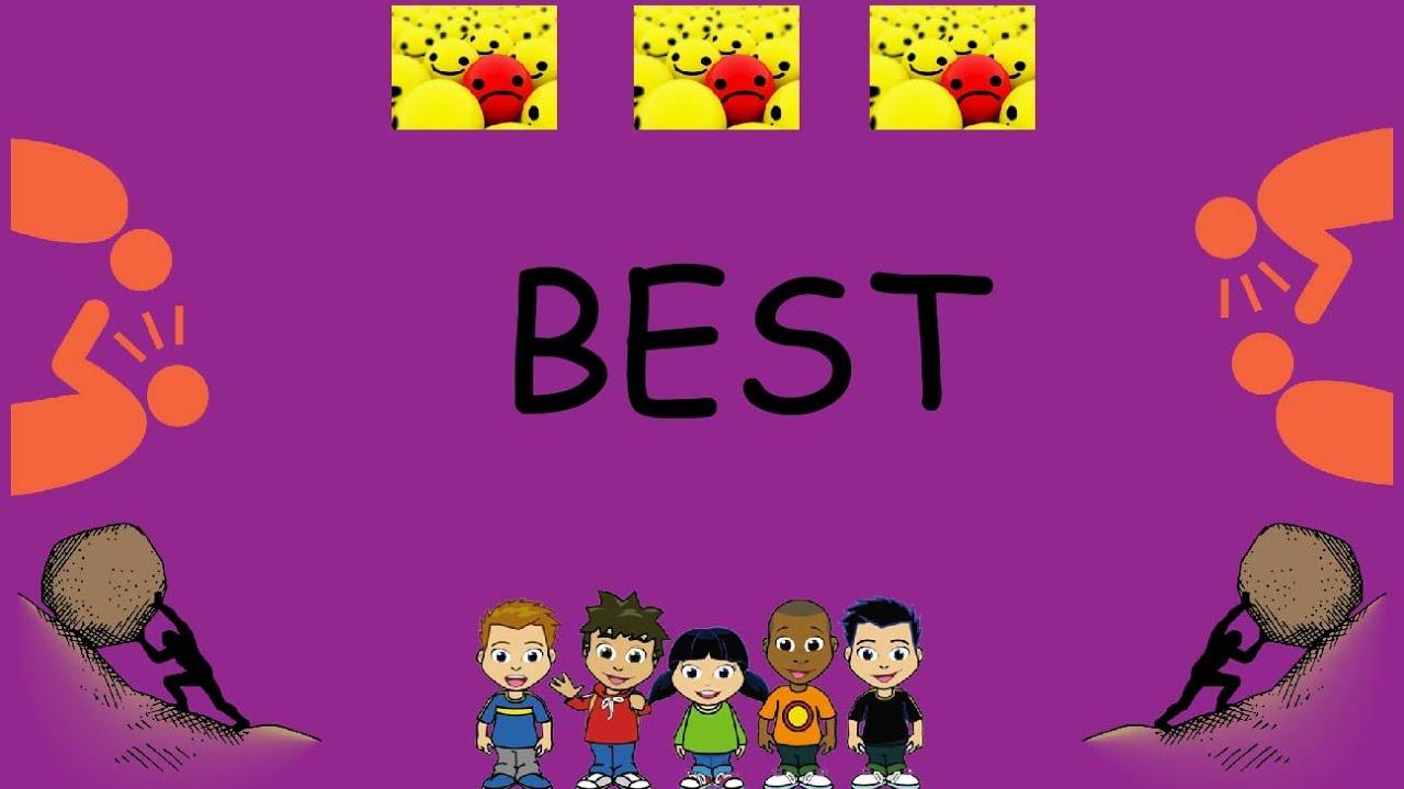 Best (Positive Poems  Children's poems  Kids' poetry )